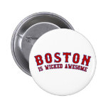 Boston is Wicked Awesome Pin
