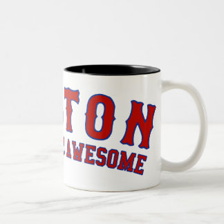 Boston is Wicked Awesome Two-Tone Coffee Mug