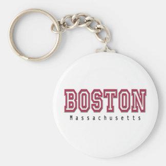 Boston Keychain