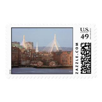 Boston Landmarks include Zakim Bridge Stamp