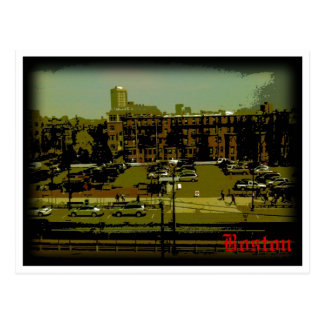 Boston Landscape Postcard