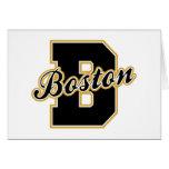 Boston Letter Greeting Card