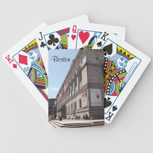 Boston Library Playing Cards