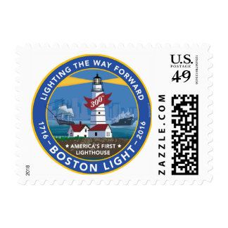 Boston Light 300th Anniversary Stamps