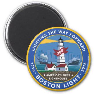 Boston Light 300th Magnet