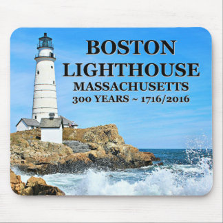 Boston Lighthouse, Massachusetts Mouse Pad