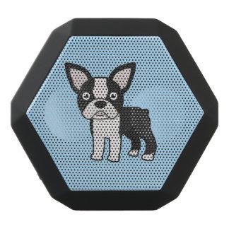 Boston linda Terrier Altavoces Bluetooth Negros Boombot REX