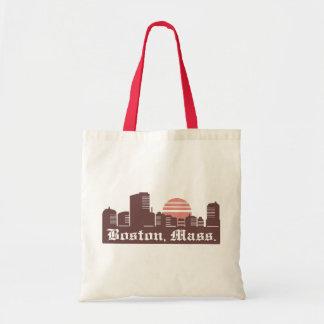 Boston Linesky Tote Bag
