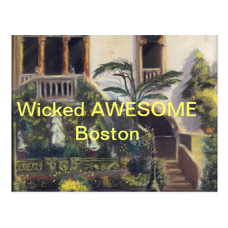 BOSTON LOCAL POSTCARD