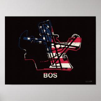 Boston Logan International Airport Poster