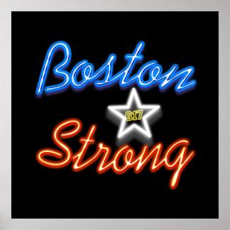 Boston los E.E.U.U. fuertes Póster