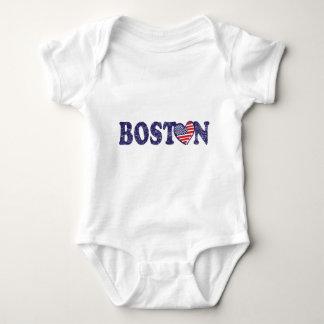 Boston Love Baby Bodysuit
