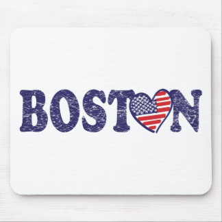 Boston Love Mouse Pad