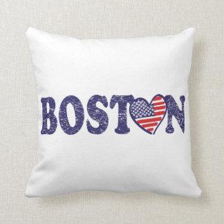 Boston Love Throw Pillow