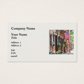 Boston MA - Acorn Street Business Card