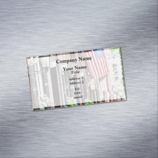 Boston MA - Acorn Street Magnetic Business Card