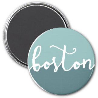 Boston, MA | Blue Circle Ombre Magnet