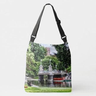 Boston MA - Boston Public Garden Bridge Crossbody Bag
