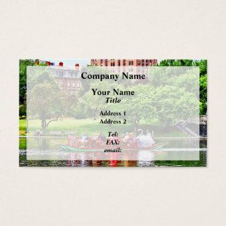 Boston MA - Boston Public Garden Business Card