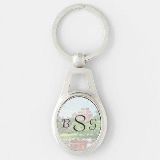 Boston MA - Boston Public Garden Wedding Supplies Keychain