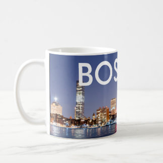 BOSTON MA COFFEE MUG