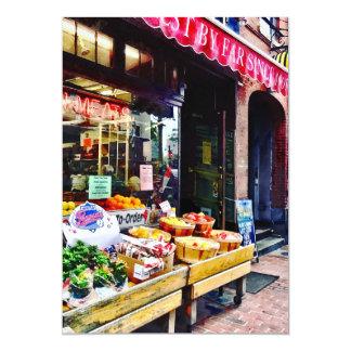 Boston MA - Fruit Stand Card