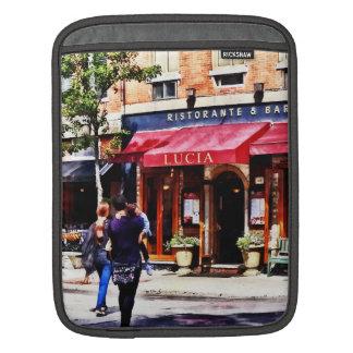 Boston MA - Hanover Street North End iPad Sleeves