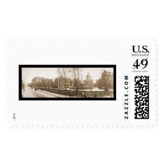 Boston, MA Hospital Photo 1903 Stamps