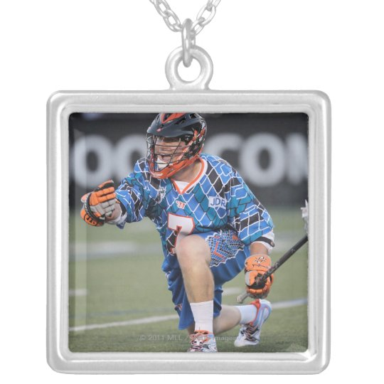 BOSTON, MA - JULY 09:  Matt Bocklet #7 Silver Plated Necklace