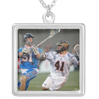 BOSTON, MA - JULY 09:  Nick Polanco #41 Silver Plated Necklace