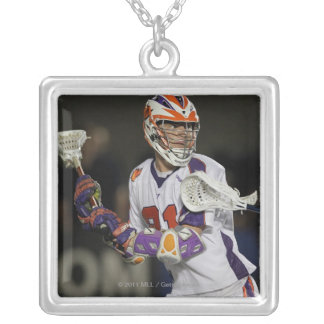BOSTON, MA - JULY 23:  Kevin Crowley #21 Silver Plated Necklace