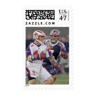 BOSTON, MA - JULY 23:  Matt Poskay #7 Postage Stamp
