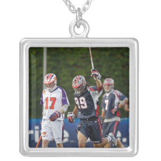 BOSTON, MA - JULY 23:  Paul Rabil #99 2 Silver Plated Necklace
