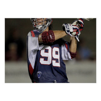 BOSTON, MA - JULY 23:  Paul Rabil #99 Poster