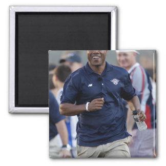 BOSTON, MA - JULY 9:  Coach Bill Daye 2 Inch Square Magnet