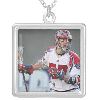 BOSTON, MA - JUNE 04:  John Connolly #57 Silver Plated Necklace