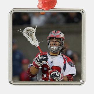BOSTON, MA - JUNE 11:  Paul Rabil #99 2 Metal Ornament
