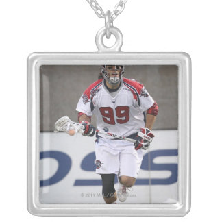 BOSTON, MA - JUNE 11:  Paul Rabil #99 Boston 2 Silver Plated Necklace