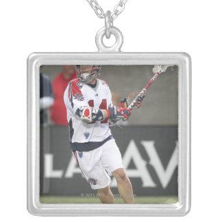 BOSTON, MA - JUNE 11:  Ryan Boyle #14 Boston Silver Plated Necklace