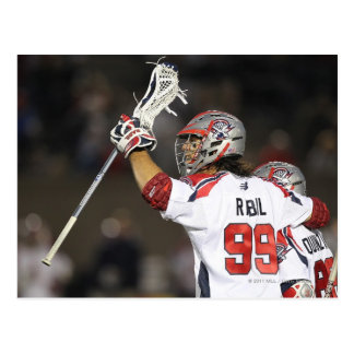 BOSTON, MA - JUNE 4:   Paul Rabil #99 Postcard