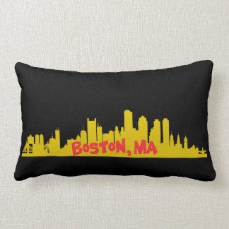 Boston,MA Lumbar Pillow