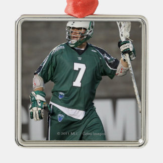 BOSTON, MA - MAY 14:  Keith Cromwell #7 2 Square Metal Christmas Ornament