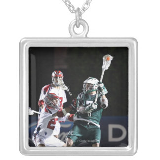 BOSTON, MA - MAY 14:  Keith Cromwell #7 Silver Plated Necklace