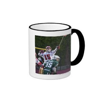 BOSTON, MA - MAY 14: Kip Turner #15 goalie for 2 Coffee Mugs