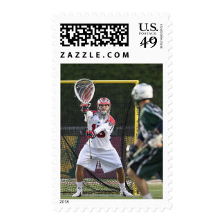 BOSTON, MA - MAY 14: Kip Turner #15 goalie for Postage Stamp