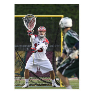 BOSTON, MA - MAY 14: Kip Turner #15 goalie for Postcard