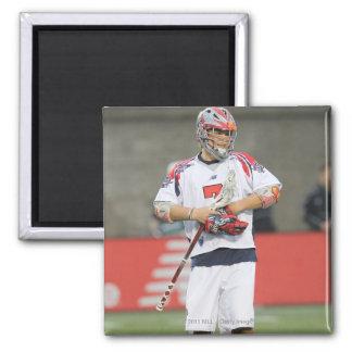 BOSTON, MA - MAY 14:  Matt Poskay #7 2 Inch Square Magnet