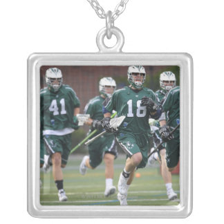 BOSTON, MA - MAY 14:  Members  Long Island 2 Silver Plated Necklace