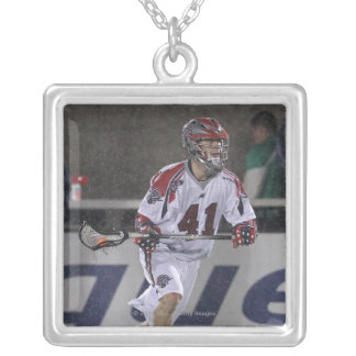 BOSTON, MA - MAY 14:  Michael Stone #41 Silver Plated Necklace