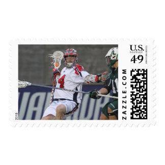 BOSTON, MA - MAY 14:  Ryan Boyle #14 Stamp